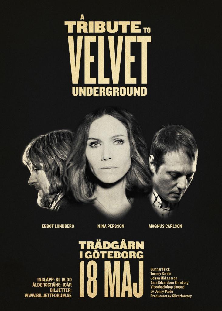 A Tribute to Velvet Underground Affisch